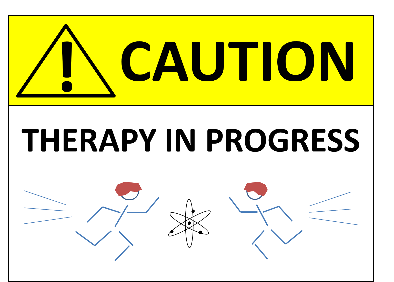 Caution Therapy in Progress Image
